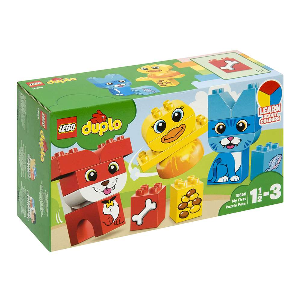 LEGO DUPLO LEARN ABOUT COLOURS MY FİRST PUZZLE 10858