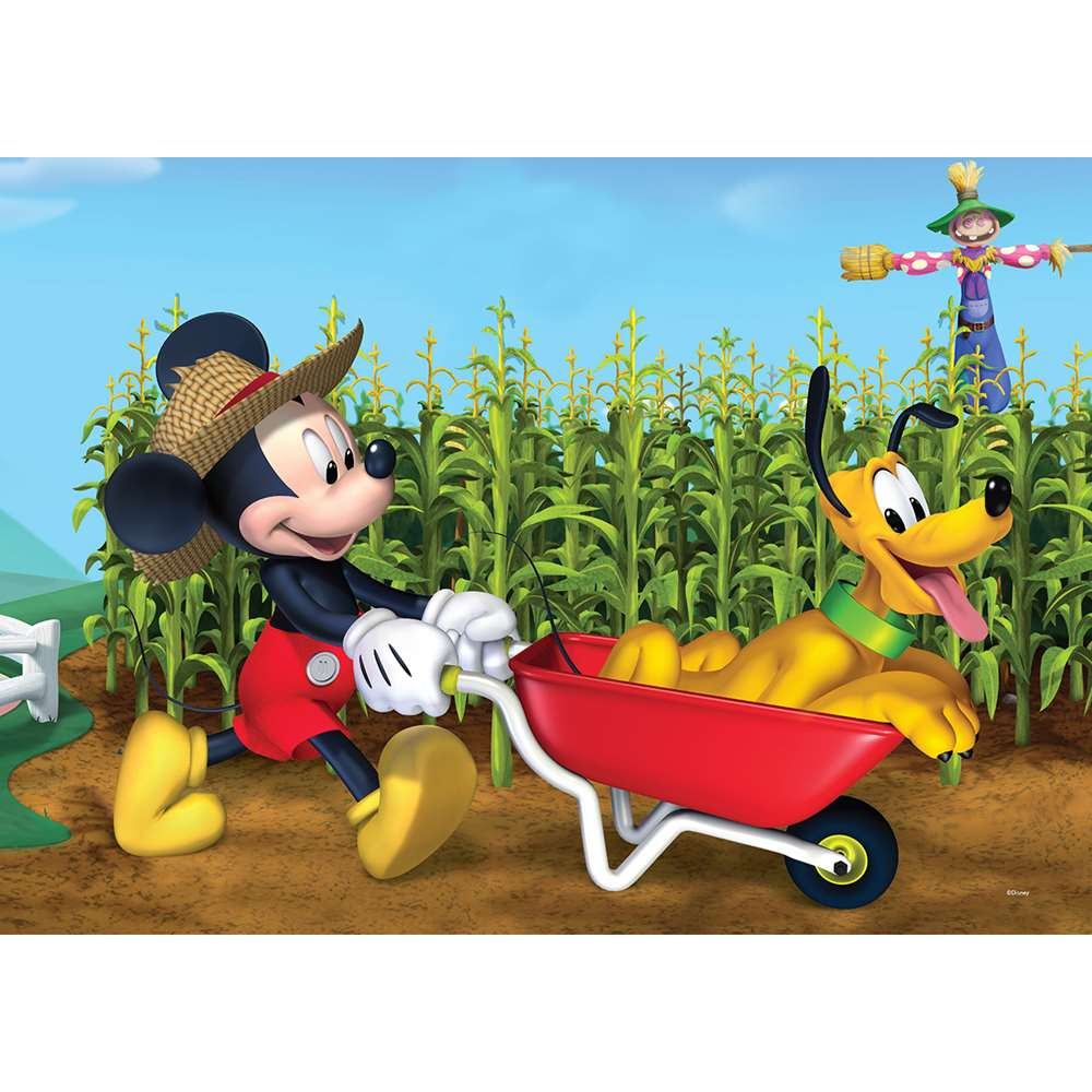 KS GAMES 100 PARÇA PUZZLE MICKEY MOUSE MCH714